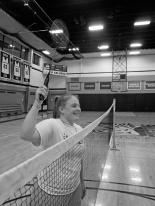 Badminton2 B&W