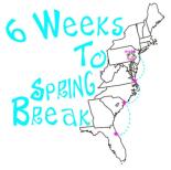 6 Weeks to Spring Break logo